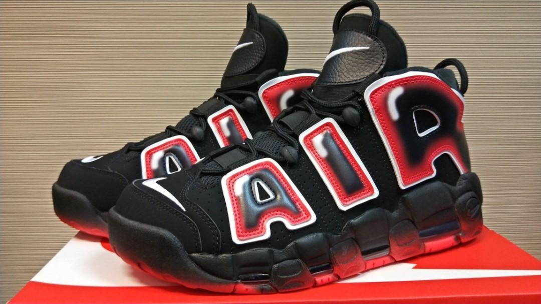 Nike Air More Uptempo '96 Black White