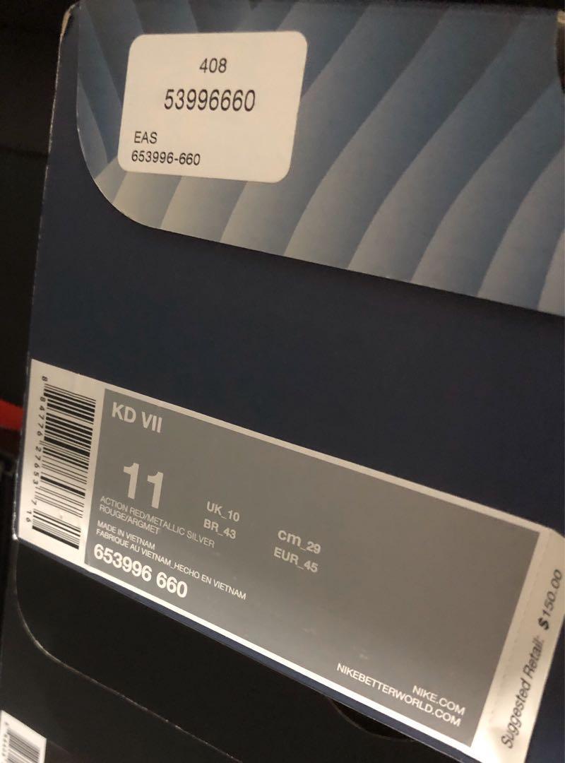 Nike KD7 Global Game US11