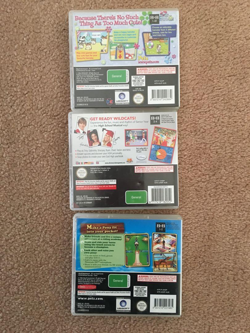 Nintendo DS Games ($10 each) or buy all 9 for $45 NEEDS TO BE GONE ASAP