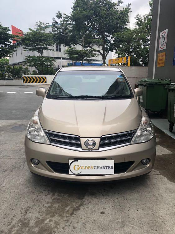 Nissan Latio For Rent! Weekly gojek rental rebate available. Personal use available