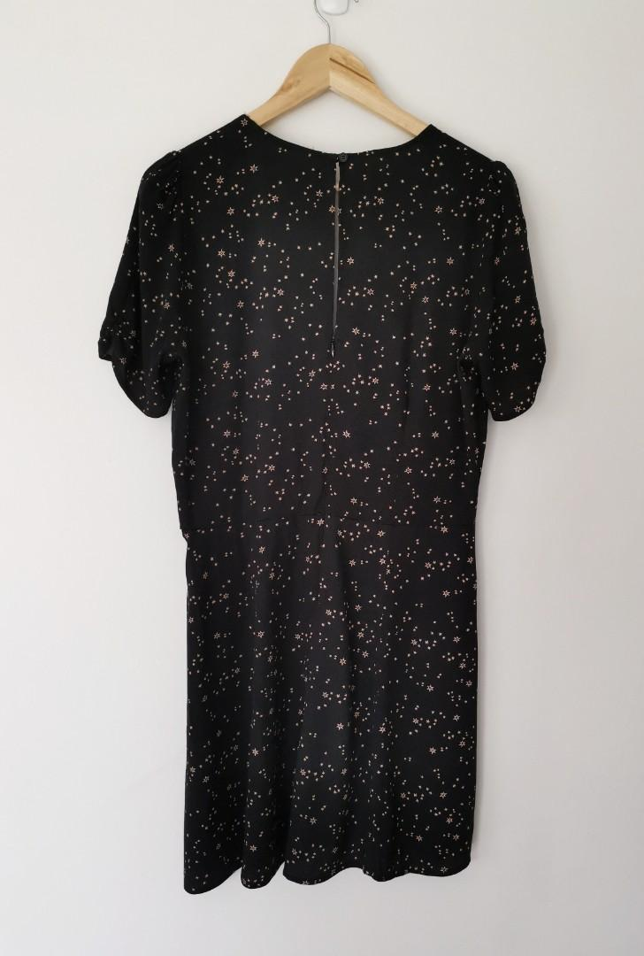 Reformation Irene Dress in Galactic - Size 12/14 RRP $346