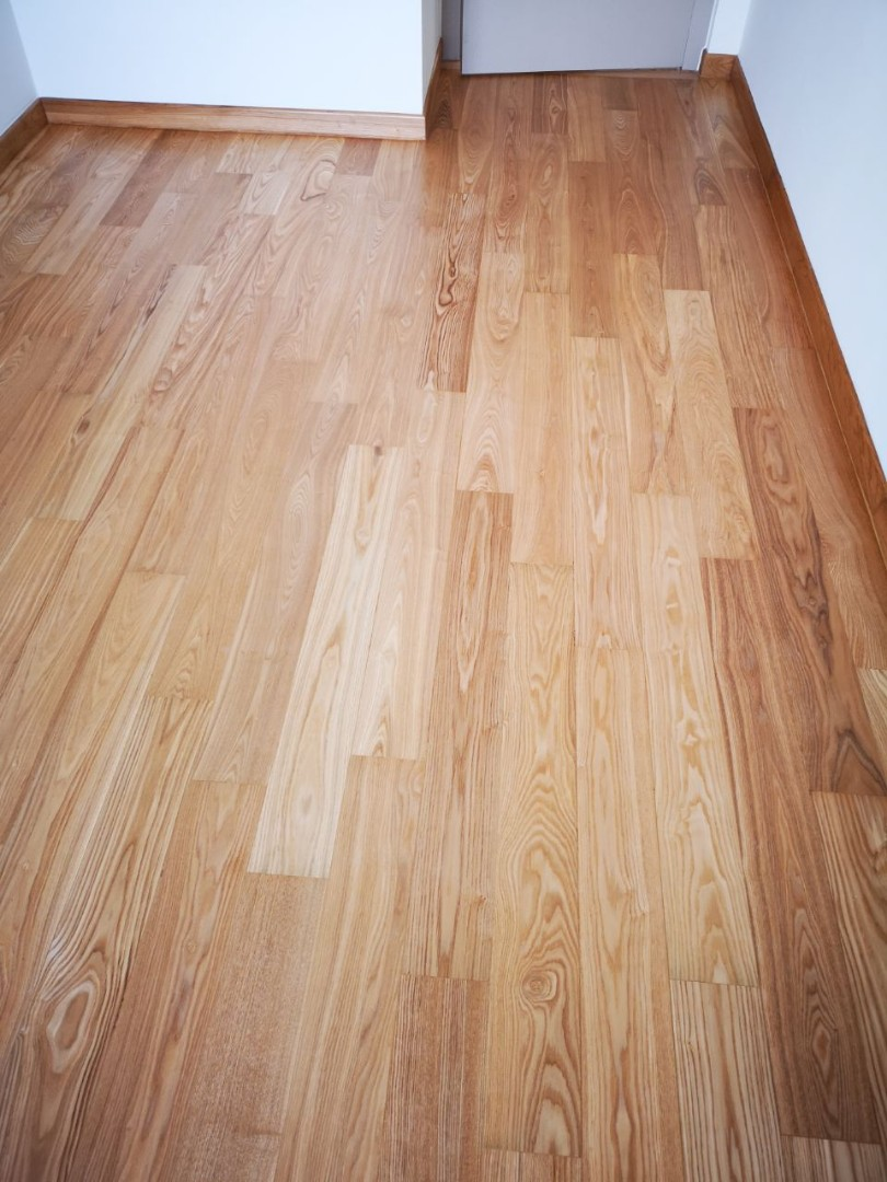 Solid Ashwood Parquet For Floor