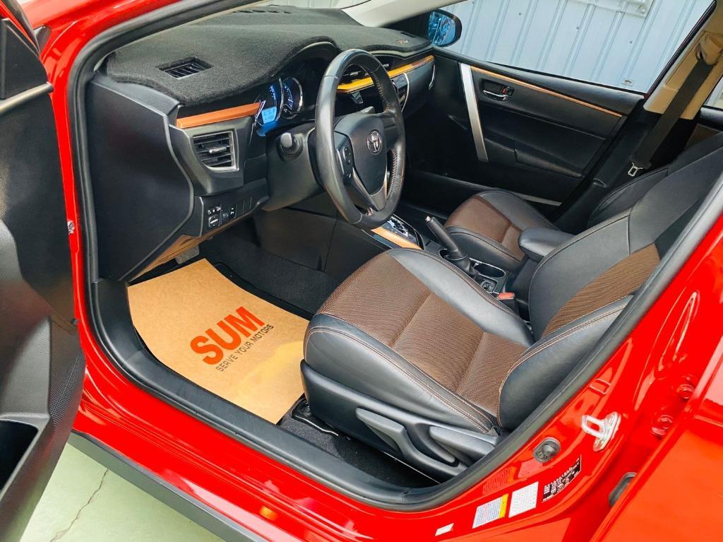 【SUM尼克汽車】2015 Toyota AltisX 1.8L