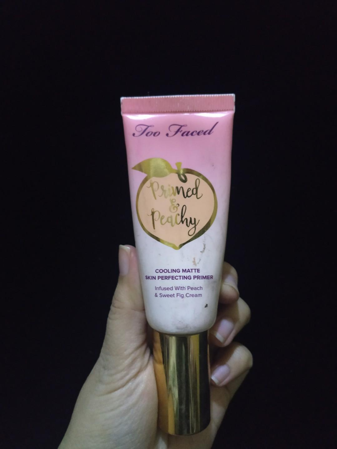 Too Faced Primer Primed and Peachy Cooling New
