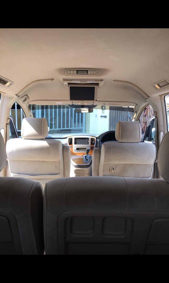 Toyota Alphard Vellfire for Rent Cheapest in Town Sewa Murah