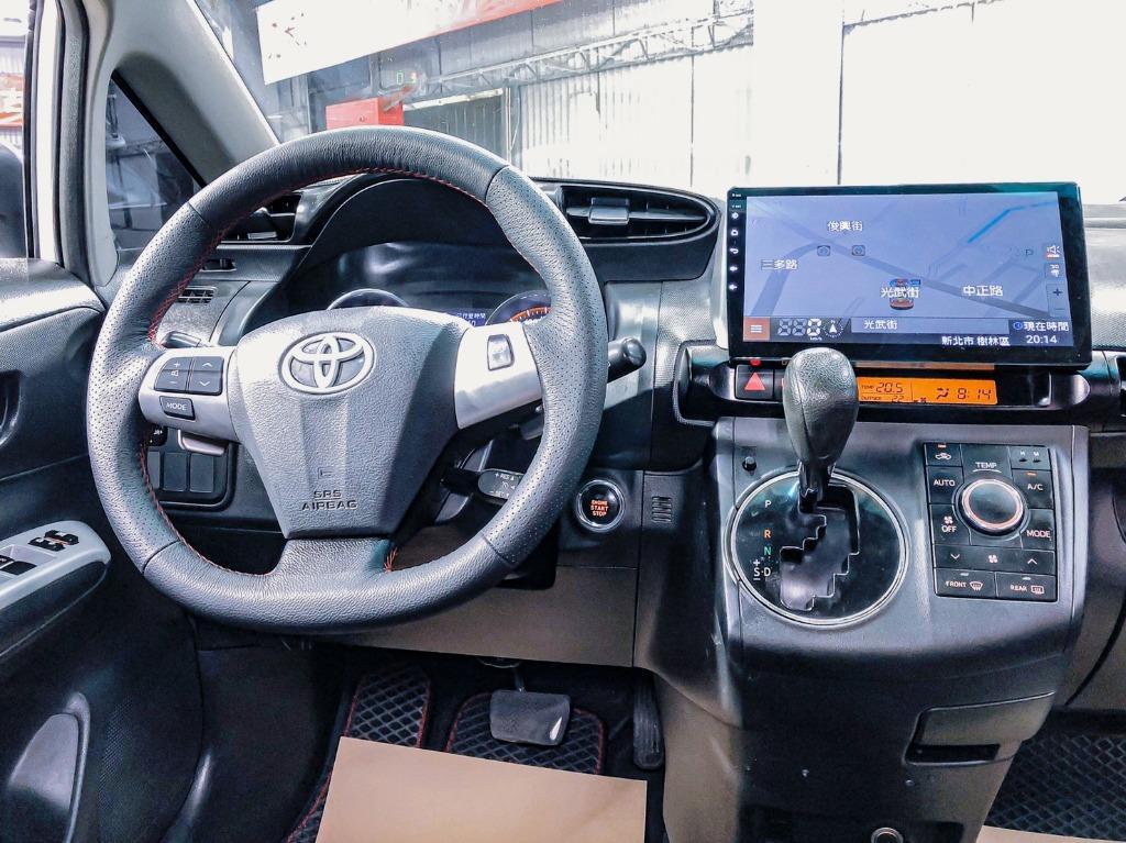 Toyota Wish 2.0G高階運動紅縫線格陵紋皮椅版