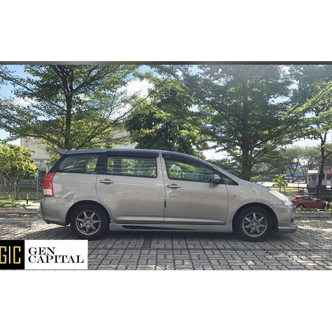 Toyota Wish - Come on down! $500 and take it away! Whatsapp 90290978!