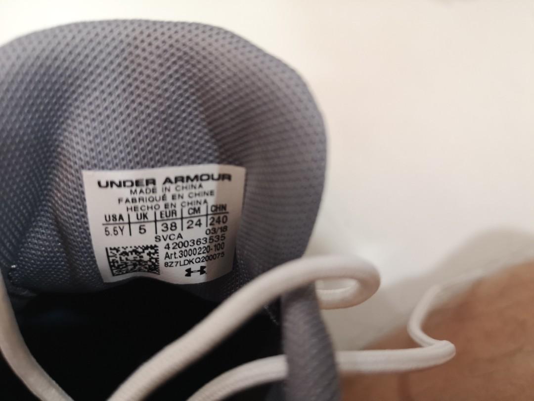 Under Armour Jordan Speith Junior Golf Shoes  US5.5Y