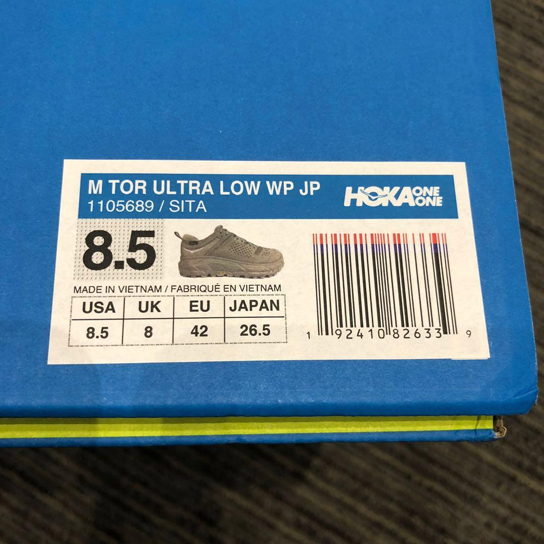 US8.5 from 432 🔥 Hoka one one m tor ultra low wp jp