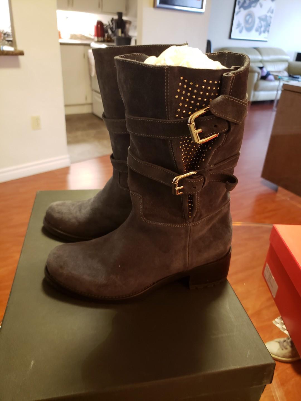 Womens Boots Gianmarco Lorenzi/Renzi Boots - Brown Size 36EU/6US