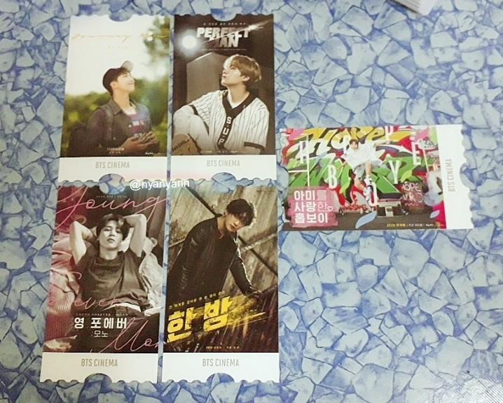 [WTS Only] BTS 6th term membership kit-Cinema Ticket