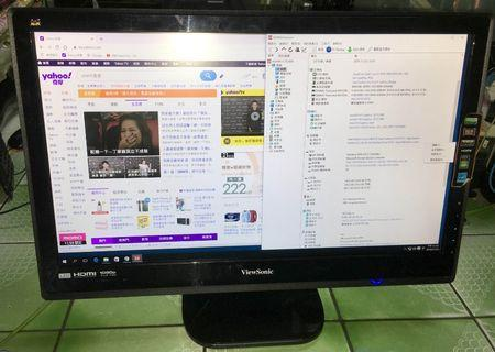 ViewSonic VX2453MH-LED HDMI 24吋16:9寬螢幕
