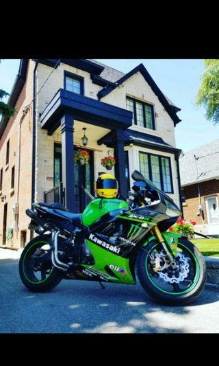 2003 Kawasaki Ninja Monster 636 ZX6R CUSTOM EXHAUST