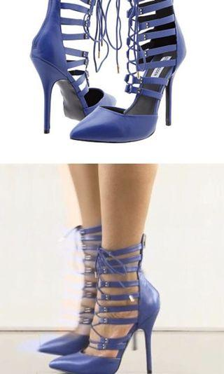 Blue Steve Madden Heels Size 7.5