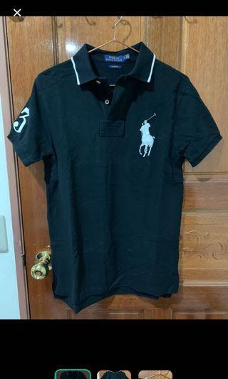 Ralph Lauren 黑polo衫