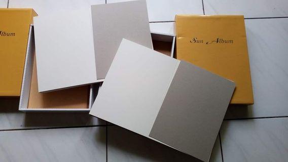 DIY手工相冊 空白相簿本 剪貼本 剪貼簿 紀念冊 相冊 兩本 (不拆賣)