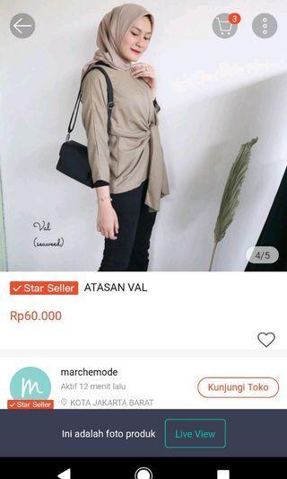 Atasan blouse promo sampe 30 Nov