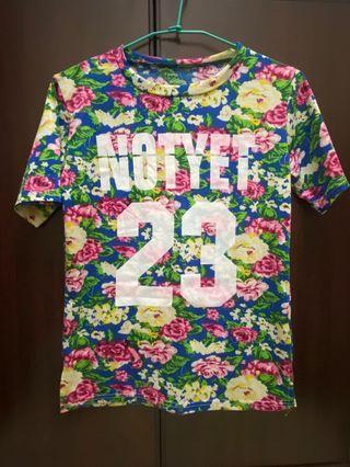花花t-shirt