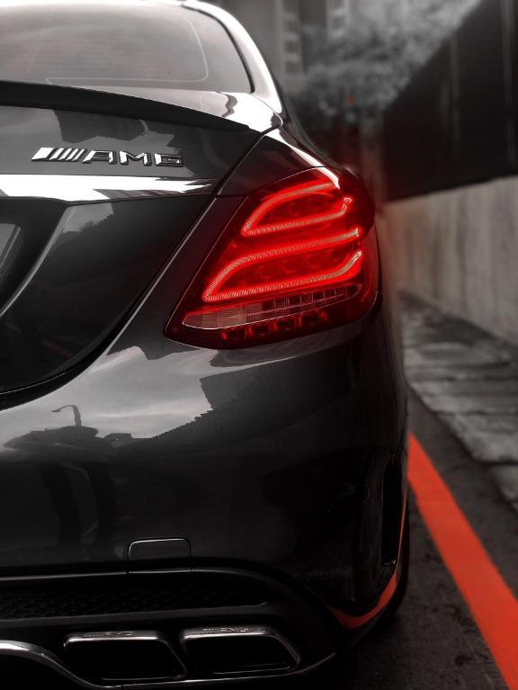 2015年 Benz c300 AMG 63包