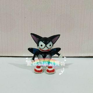 絕版二手霹靂酷樂貓小公仔/懷舊玩具/老玩具/黑貓擺飾/愛瑞獅的藏寶箱