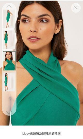 連身裙「綠色」洋裝