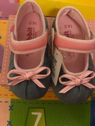 女寶寶鞋「軟底」14碼