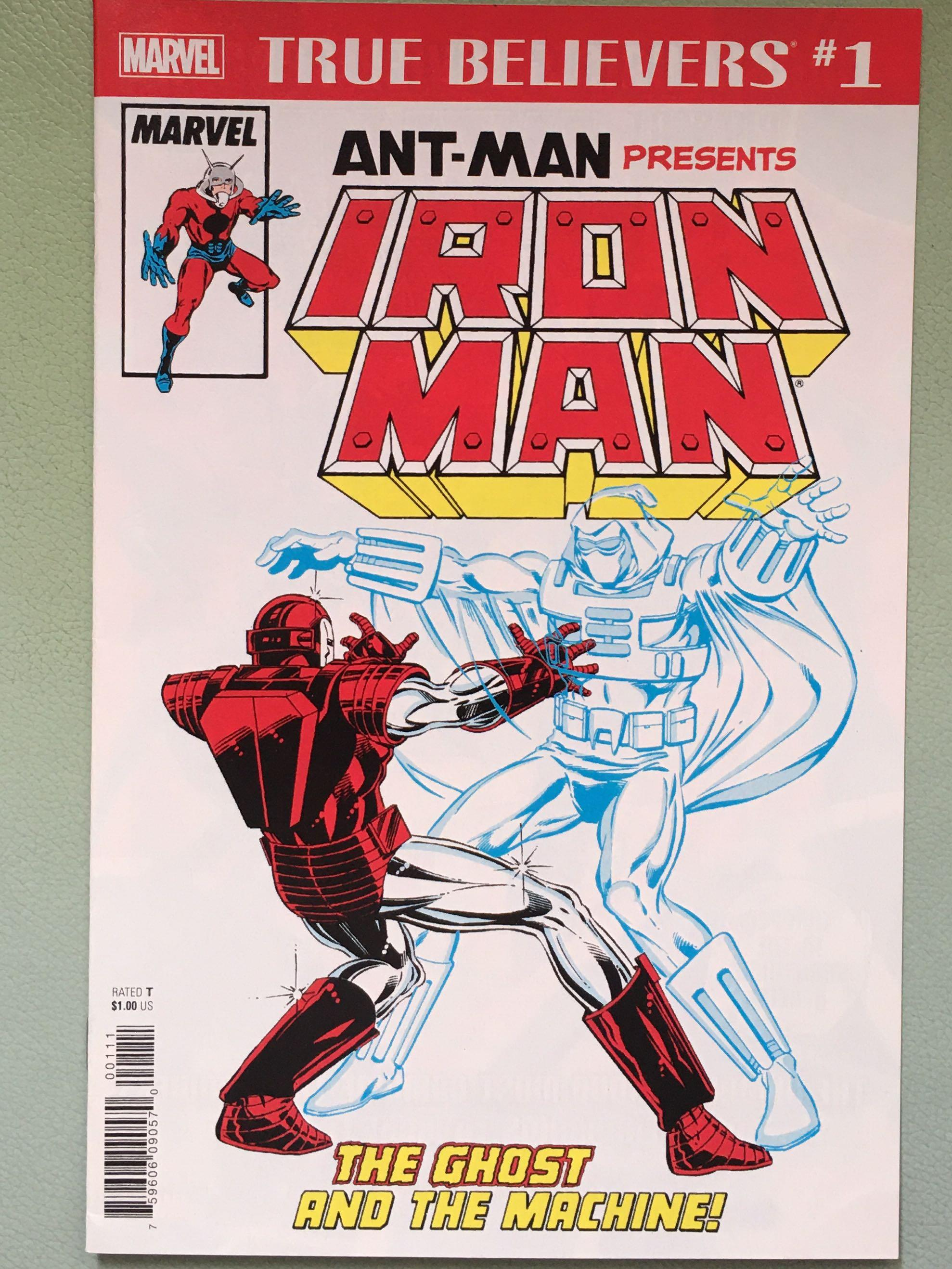 Ant-Man presents IRON MAN: The GHOST and the Machine_Marvel Comics