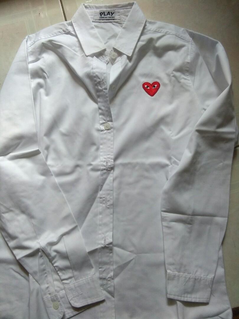 Baju putih CDG