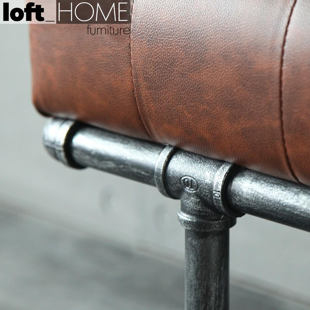 Bench – Leather Pipe