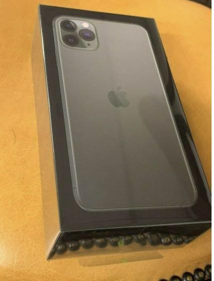 Brand new Apple iPhone 11 Pro 256GB MIDNIGHT GREEN