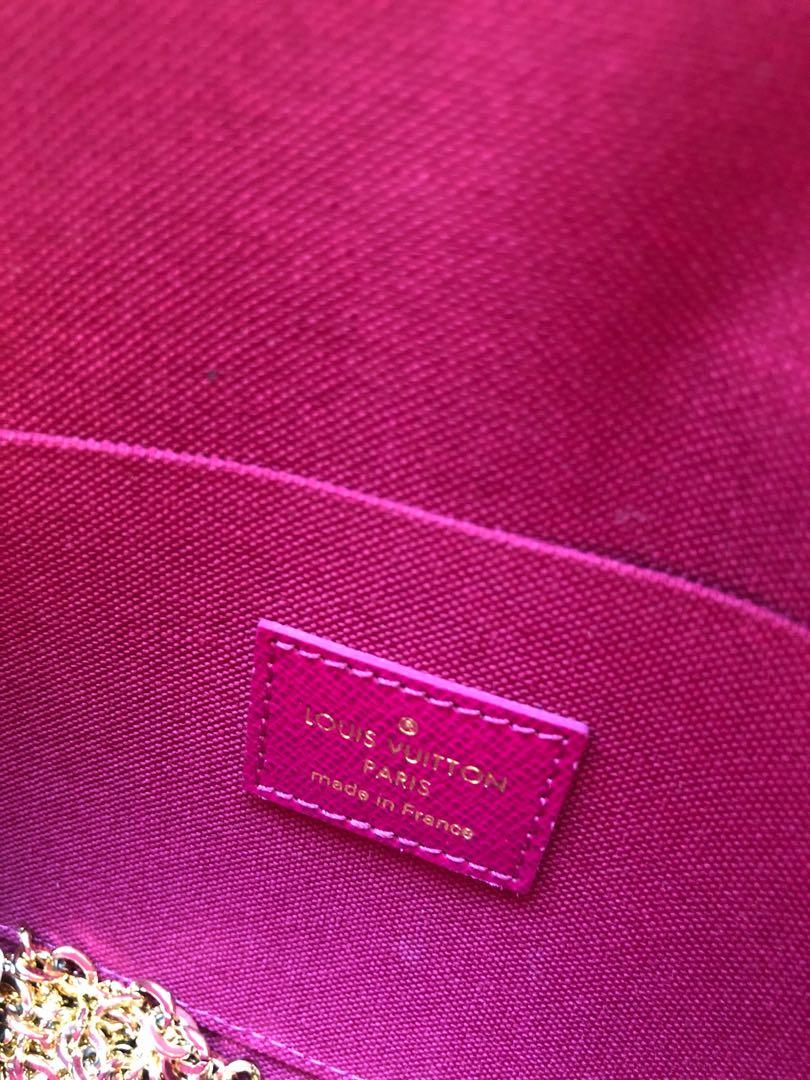 Brand new authentic Louis Vuitton Pochette Felicie Monogram