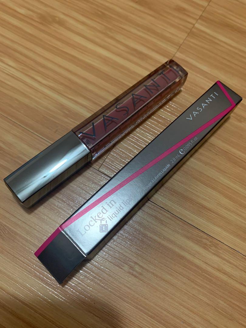 Brand New Vasanti Liquid Lipstick in Shade Engaged