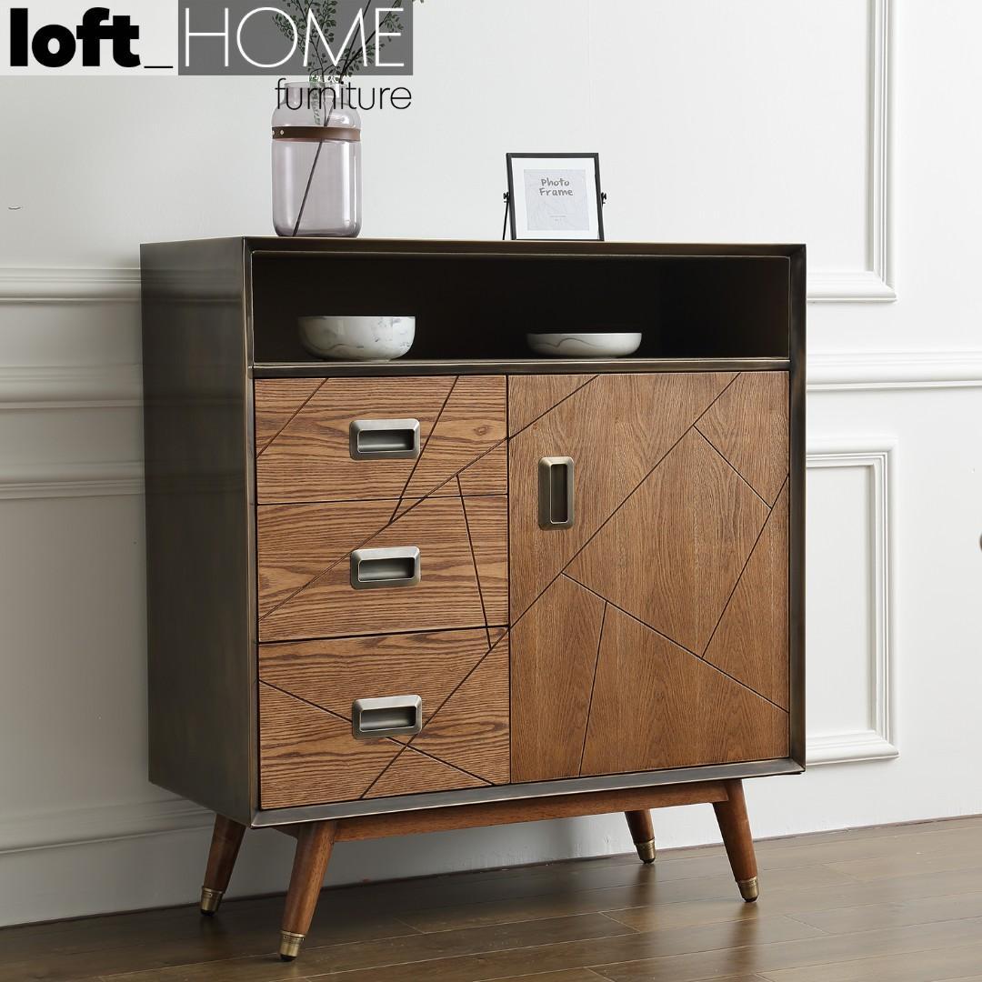 Cabinet / Chest of Drawer – Vintage Brass
