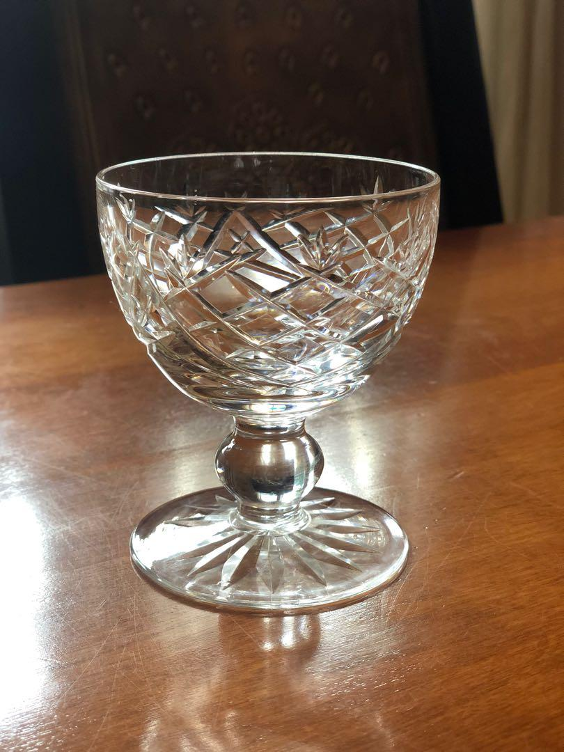 *CHRISTMAS SALE* Waterford Crystal Decanter with 4 Cocktail Glasses