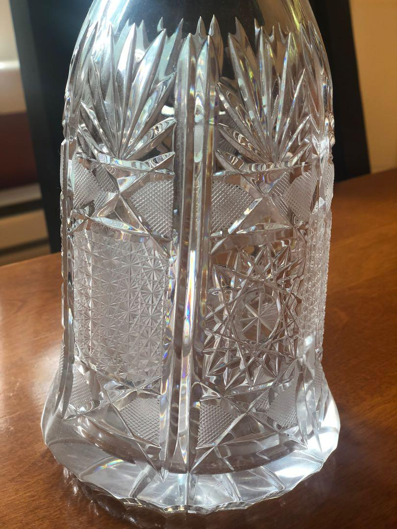 *CHRISTMAS SALE* Waterford Crystal Wine Decanter with 4 Glasses