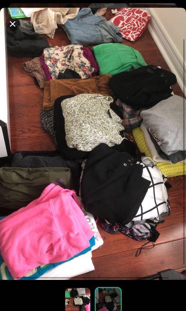CLOTHES BUNDLE - includes Nike, adidas, aritzia, guess