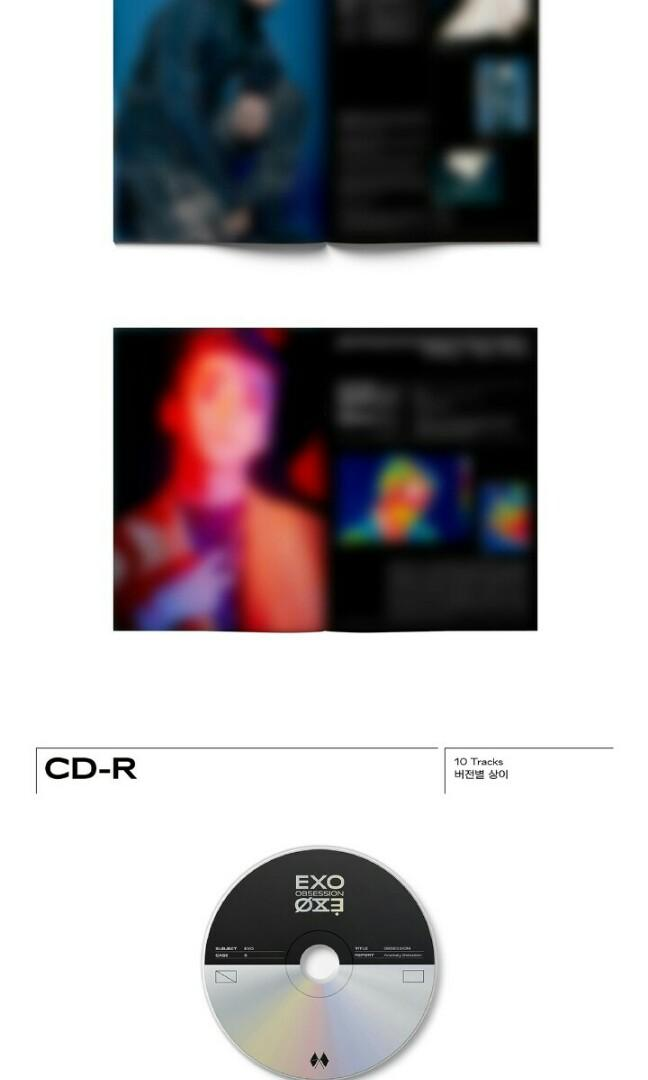[PRE ORDER] EXO THE 6TH ALBUM OBSESSION - OBSESSION VERSION
