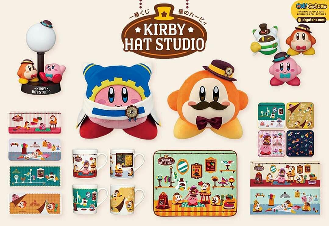 [INFO] Ichiban KUJI - KIRBY HAT STUDIO @ Oh! Gatcha