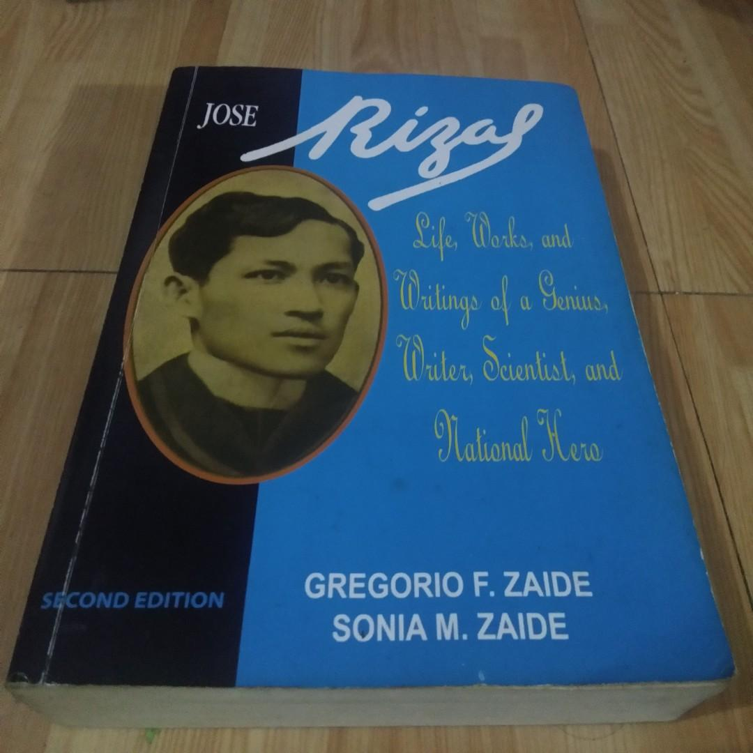 Jose Rizal Life, works and writings of a Genius, Writer, Scientist, and National Hero