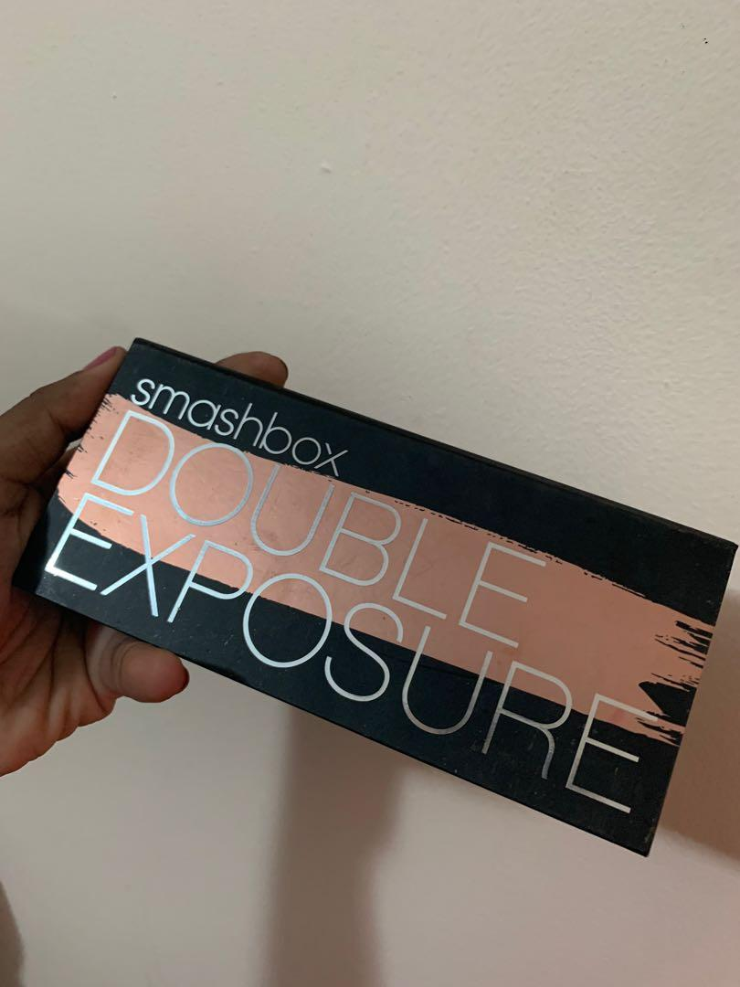 Lightly Used Smashbox Double Exposure Eyeshadow Palette
