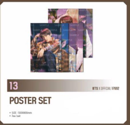 [LOOSE] Ready stock Japan Muster MAGIC SHOP POSTER