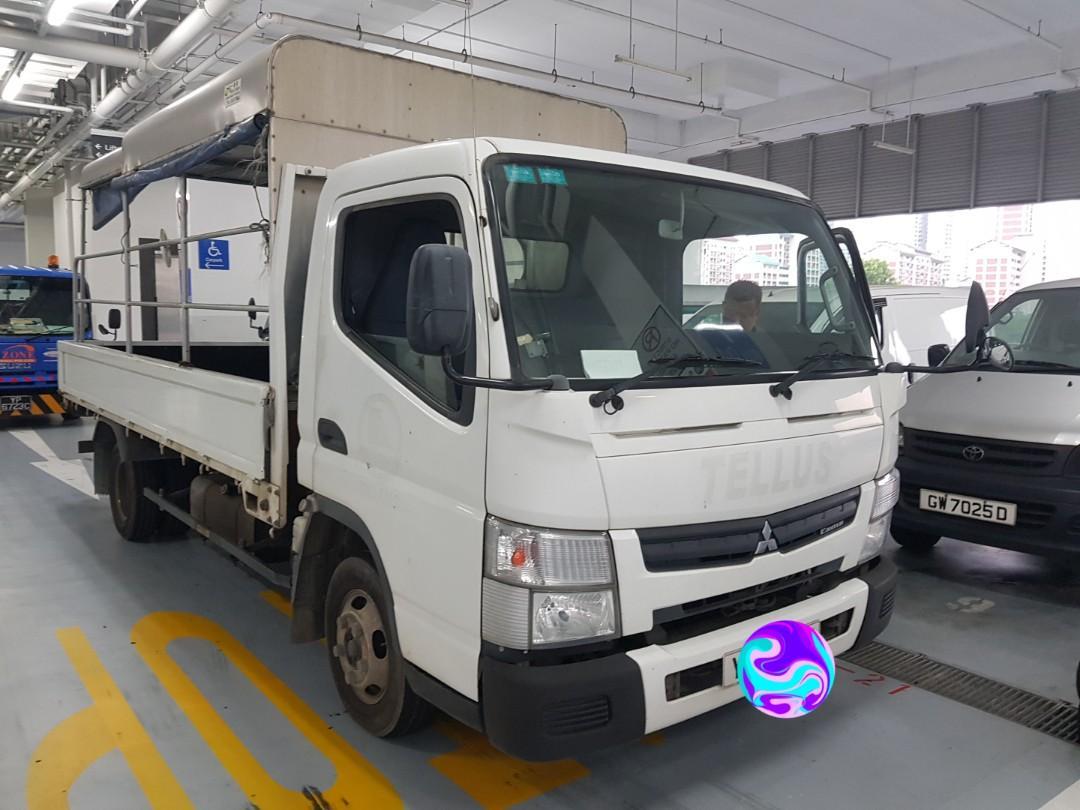Mitsubishi canter 14ft FEB21