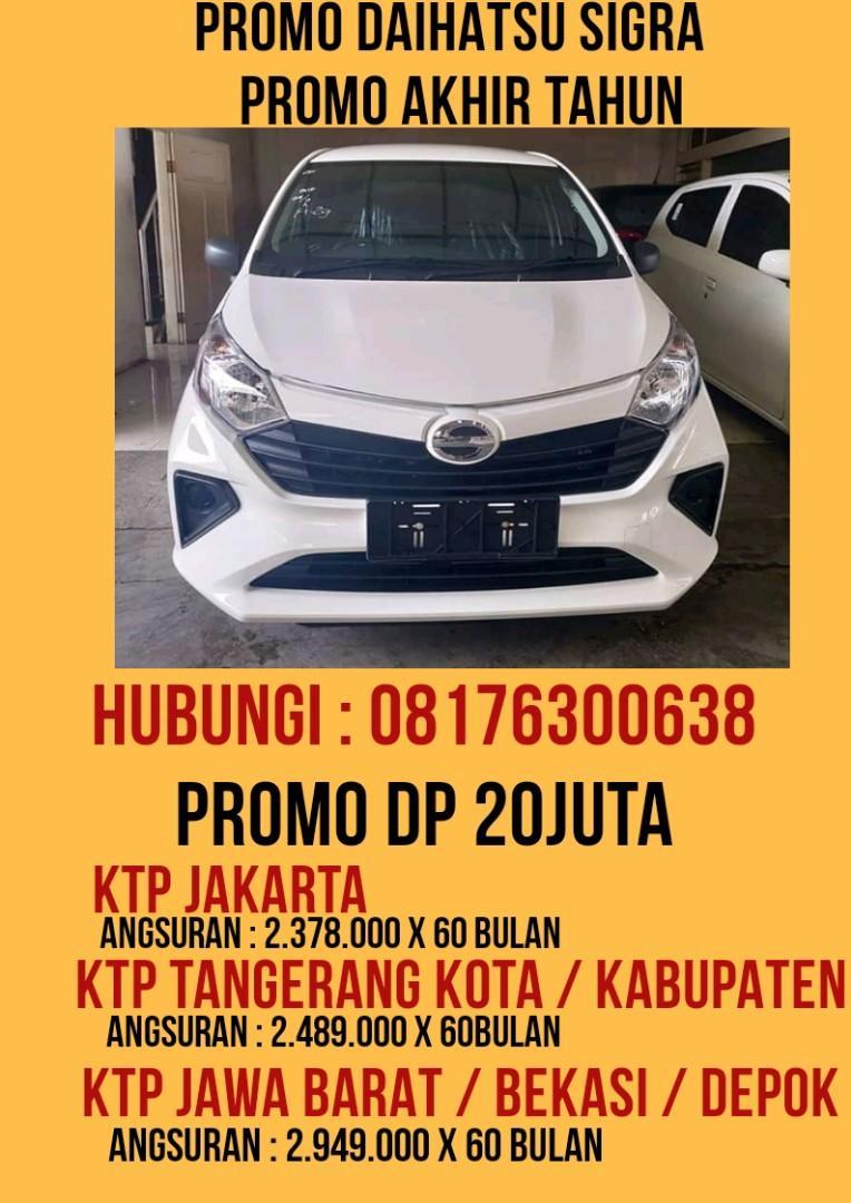 New Daihatsu SIGRA ( HUBUNGI 08176300638 ) PROSES DIBANTU