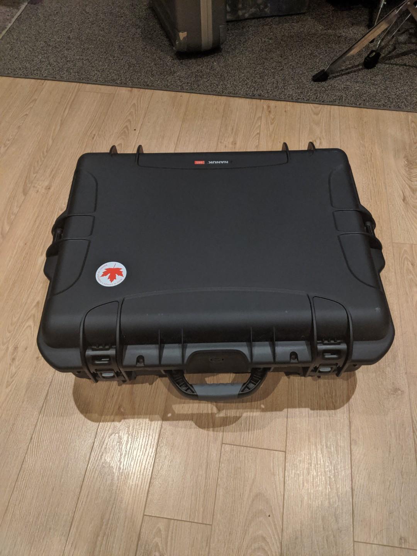 NEW DJI Phantom 4 Advanced With Custom Nanuk Plasti Case
