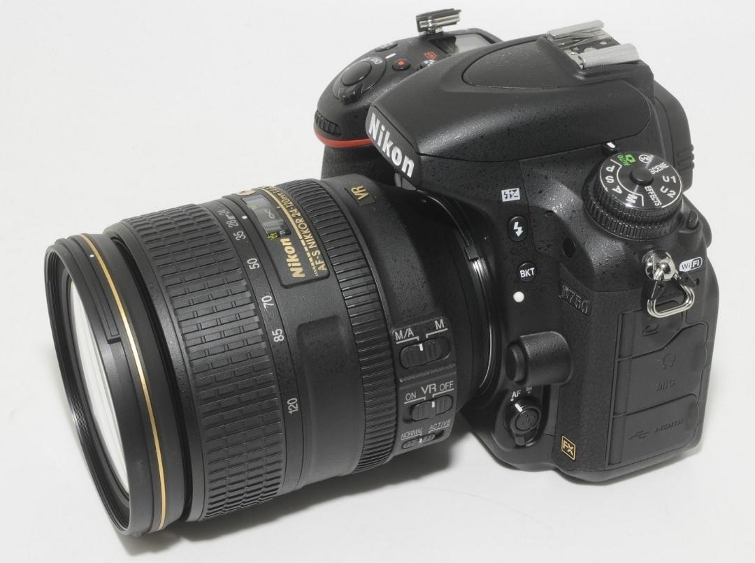 Nikon D750 24-120mm f4 kit
