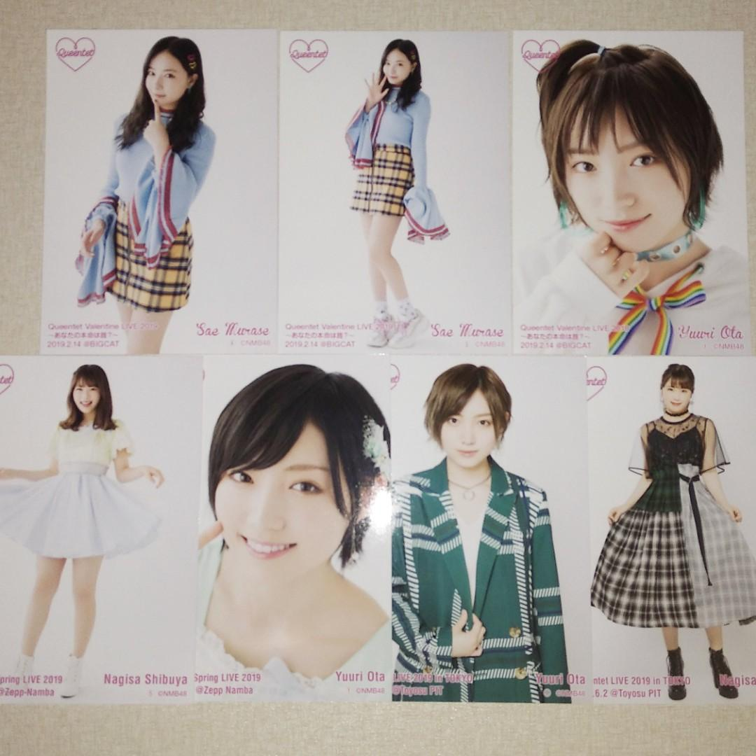 NMB48 Queenqet 生寫真 AKB48 太田夢莉