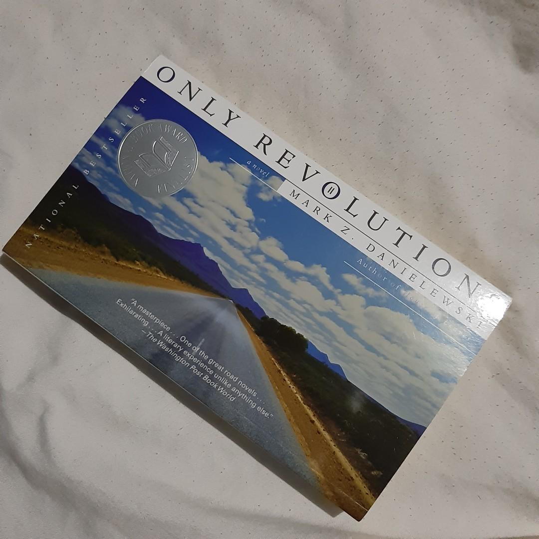 """Autographed copy of """"Only Revolutions"""" by Mark Z. Danielewski, rare double-autographed copy"""