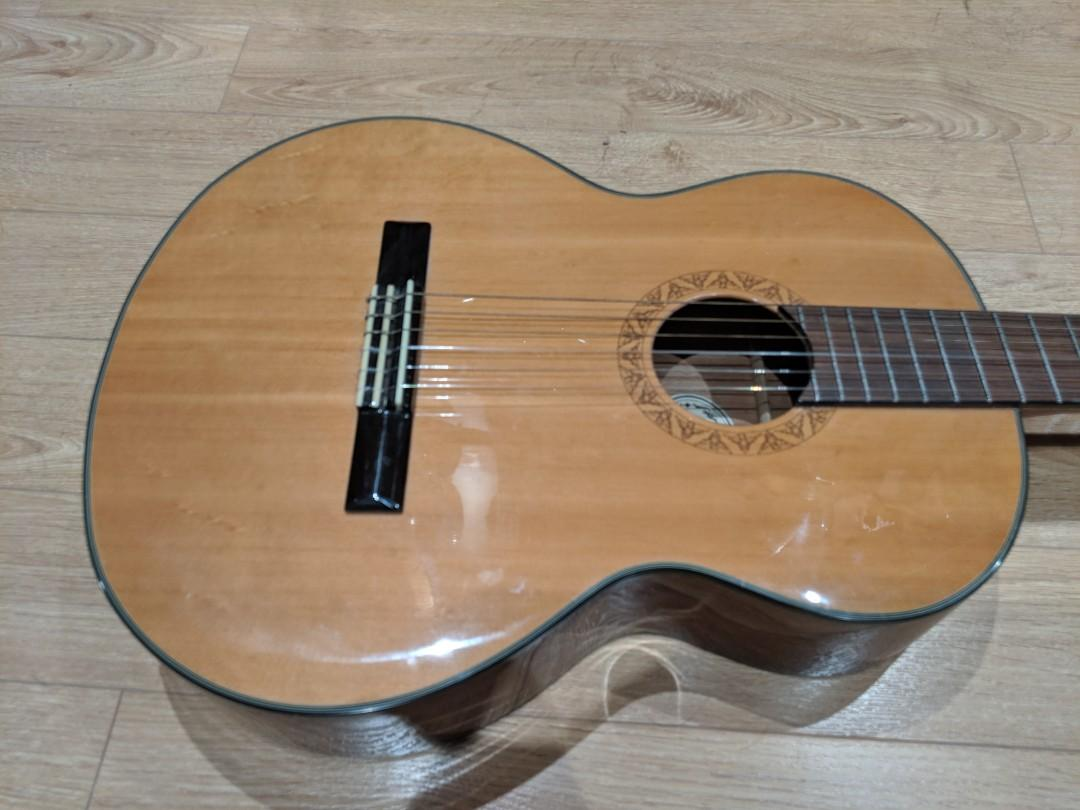 RARE Carparelli DOS MC-10S NA Classical Acoustic Guitar