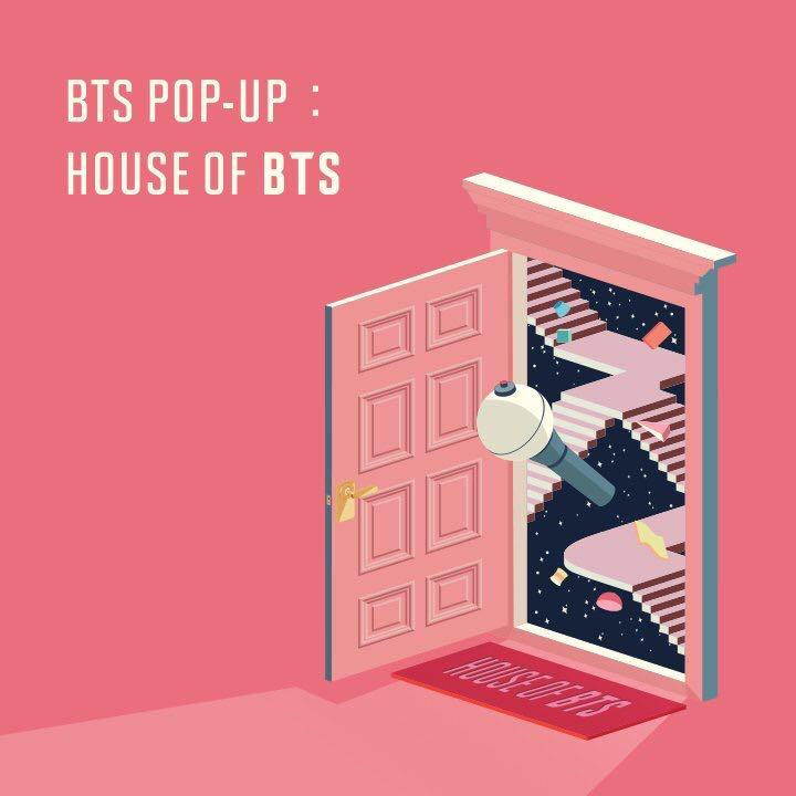 [SEOUL] BTS POP-UP STORE 🏬 HOUSE OF BTS - WELCOME KIT, FREEBIES