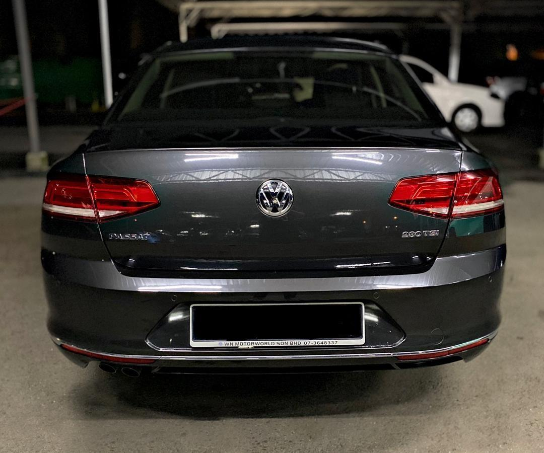 SEWA BELI>>VW PASSAT 1.8TSI CL (A) LATEST FACELIFT 2018
